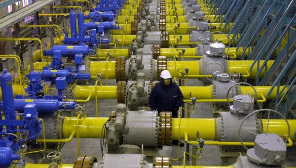 Украина закачала в подземные хранилища свыше 10 млрд куб. газа