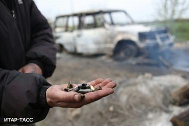 В Луганской области ополченцы штурмуют погранотряд