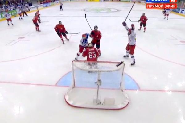 Сборная России победила швейцарцев со счетом 5:0
