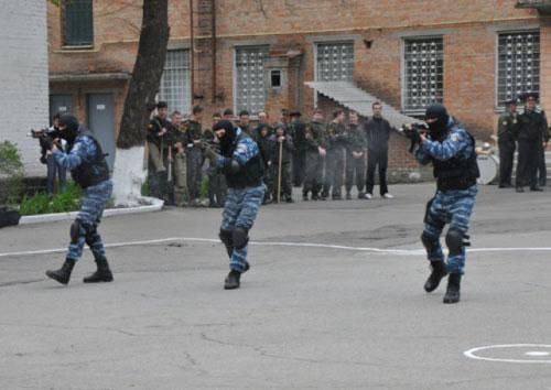 Полтавский «Беркут» отказывается ехать в Краматорск
