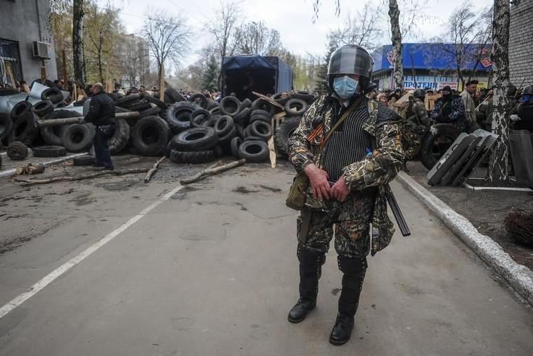 В Луганске слышны выстрелы
