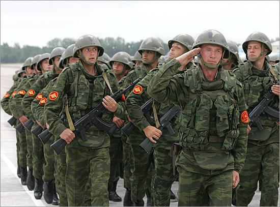 ВС России вошли в пятерку наиболее мощных армий мира