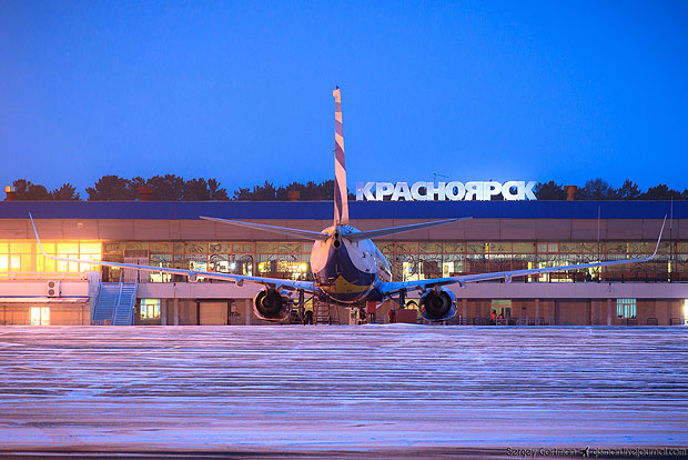Красноярский аэропорт снова «заминировали»