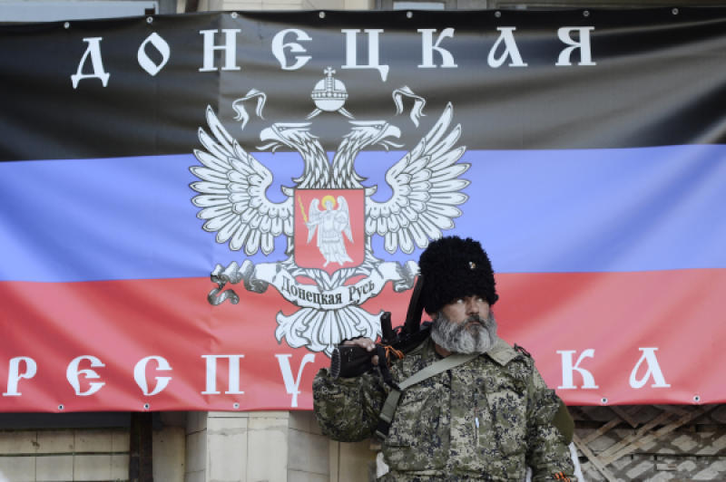 Нацгвардия находится в непосредственной близости от Донецка