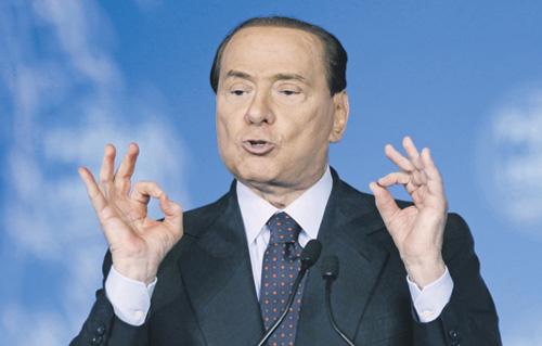 Берлускони начал карьеру социального работника