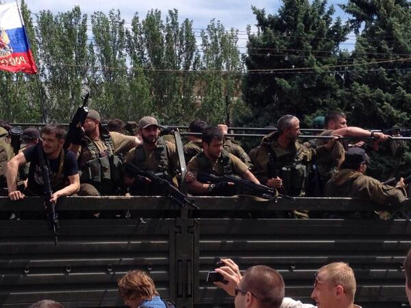 В Донецке  установлено перемирие?