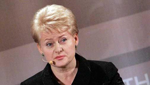 Грибаускайте лидирует на выборах президента Литвы, получив 47 процентов голосов. Но ещё будет второй тур