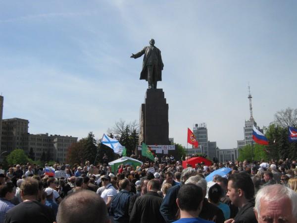 В Харькове состоялся митинг памяти погибших в Одессе