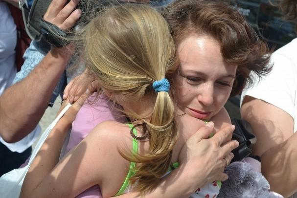 Из осажденного Славянска вывезли 11-летнюю россиянку