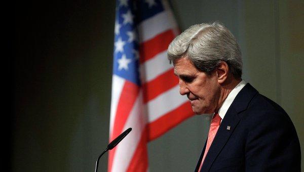 Керри: США вместе с Россией и Германией будут продвигать национальный диалог на Украине