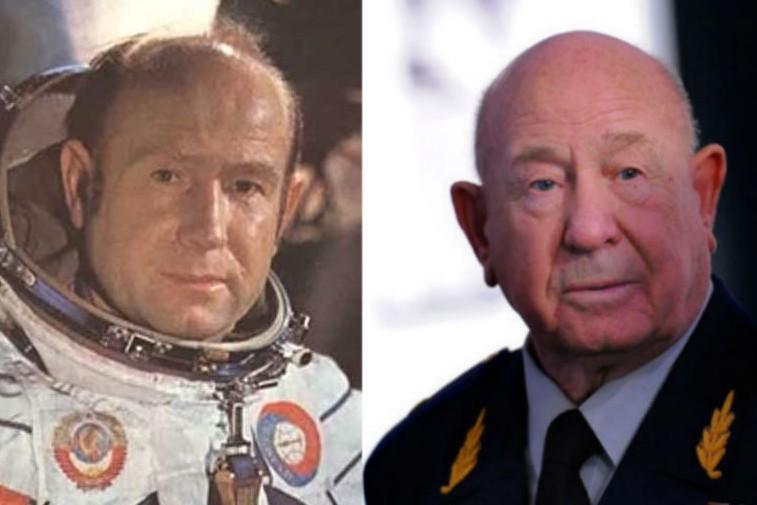 Космонавт Алексей Леонов отмечает 80-летие, открыв выставку своих картин