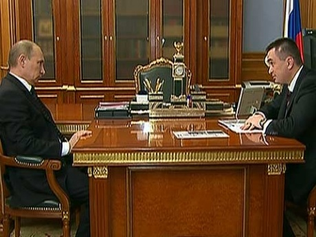 Приморский губернатор попросил Путина о досрочных выборах