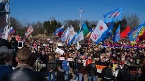 В Одессе прошел митинг в память погибших в Доме профсоюзов