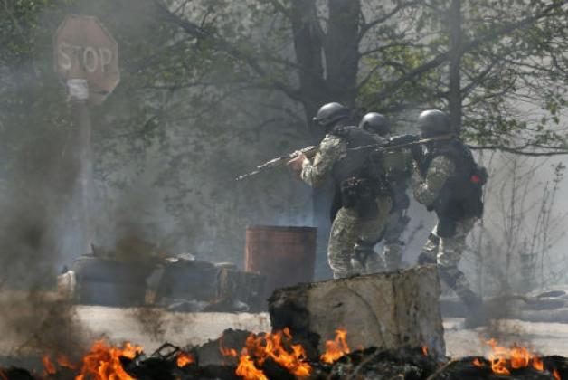 Вчера в Славянске погибли более 30 ополченцев