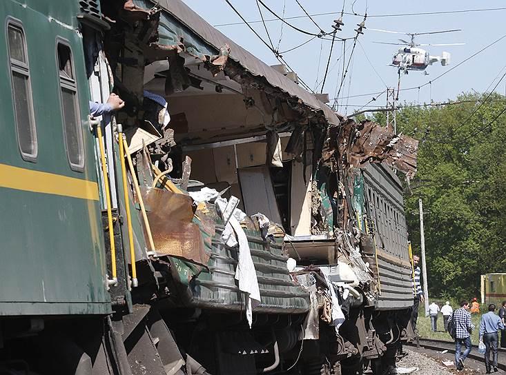 По делу о столкновении поездов задержан бригадир ремонтников
