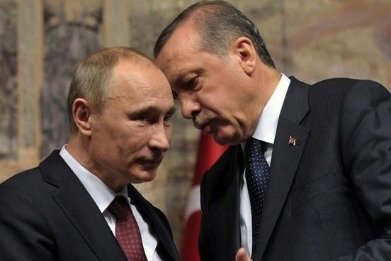 Путин поделился с Эрдоганом беспокойством из-за карательной операции на Украине
