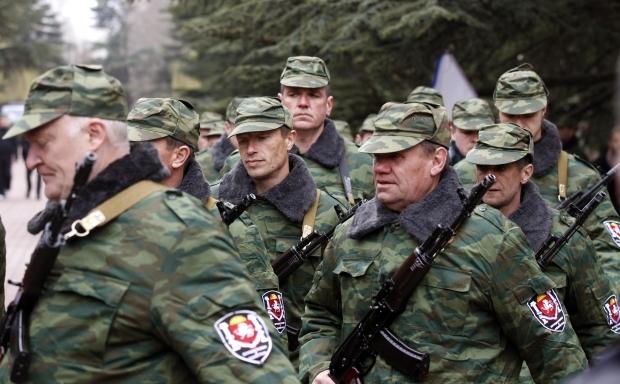 Силы самообороны Крыма получили официальный статус