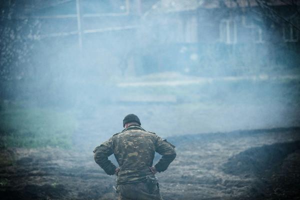 Минувшей ночью Славянск снова обстреливали