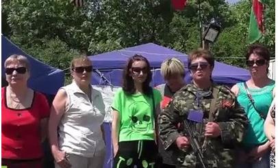 Женщины Донбасса идут в ополчение: