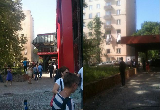В доме на Кутузовском проспекте в Москве произошёл взрыв бытового газа