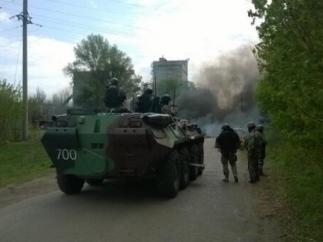 Силовики прекратили огонь, чтобы перегруппироваться – самооборона Славянска