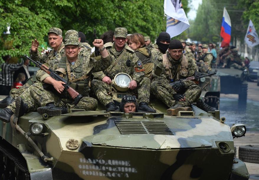 В Донецке ополченцы захватили воинскую часть на улице Куприна