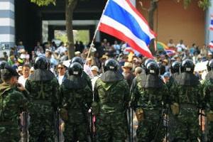 В Таиланде происходит военный переворот
