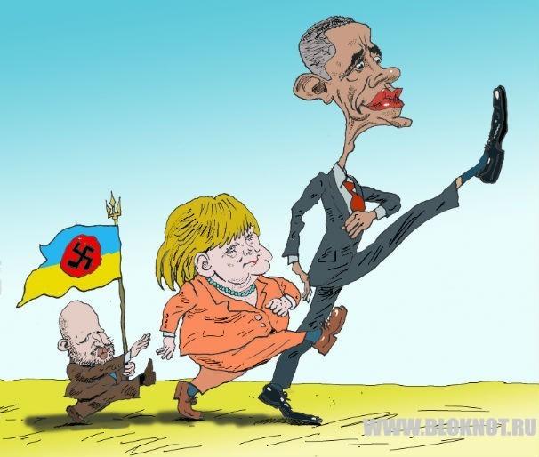 Германия проиграла «рэйдерский захват» Украины: Обама переиграл Меркель