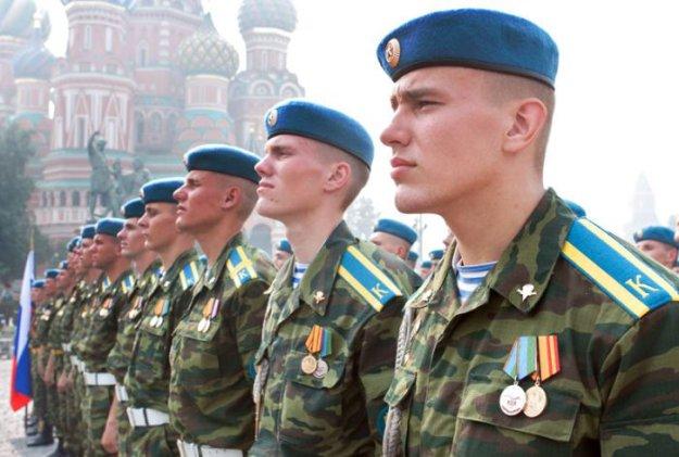 Первая открытая акция по отбору граждан на военную службу по контракту началась в РФ