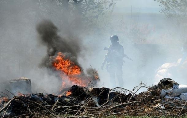 На окраине Славянска вновь идут бои