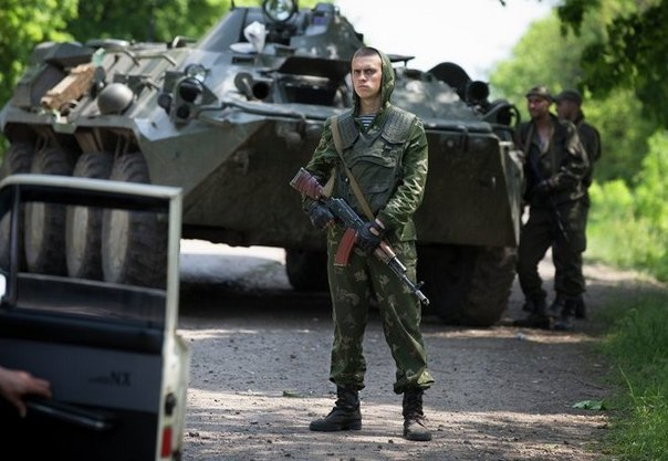 В Краматорске завязался бой