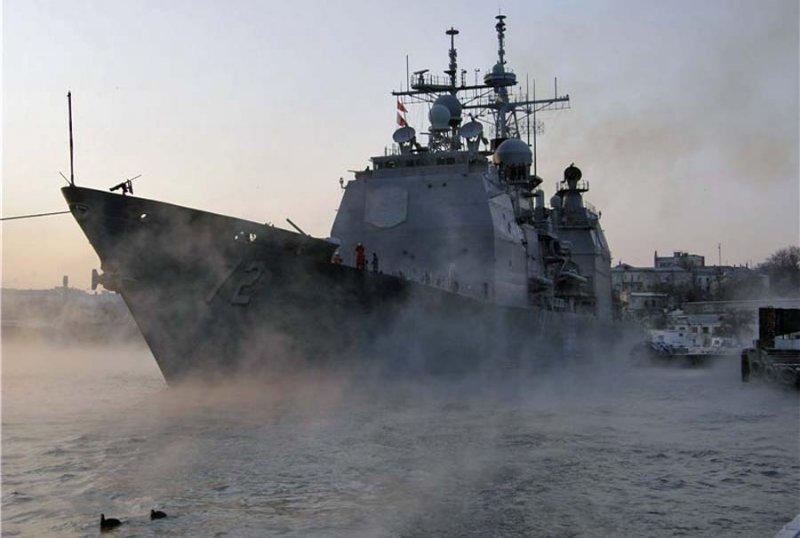 США готовятся пустить в Черное море крейсер Vella Gulf, подобный инцидент имел место во времена СССР