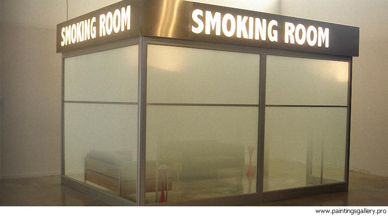 Места для курения предлагают оснастить пепельницами и искусственным освещением