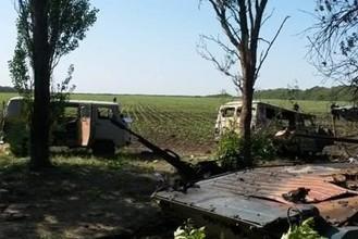 Очевидцы: Под Луганском боевики казнили десять безоружных солдат и поставили их на колени