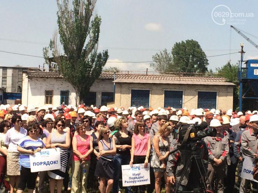 Эксперт считает, что забастовками в Мариуполе Ахметов хочет показать свою власть
