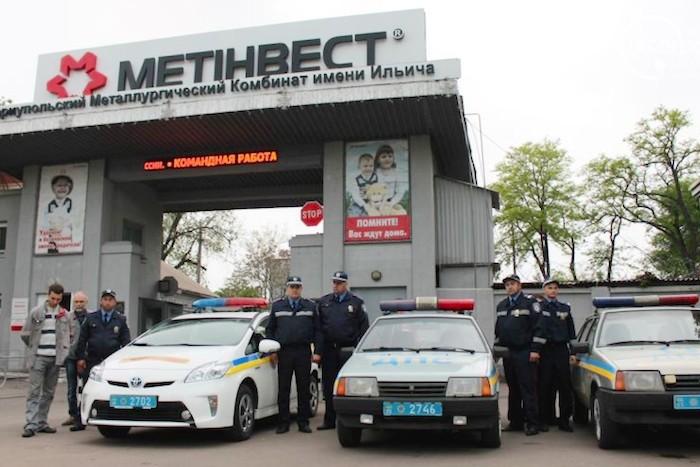 В Мариуполе структуры Ахметова, милиция и представитель ДНР подписали меморандум о порядке и безопасности