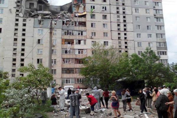 В Николаеве взорвался девятиэтажный дом