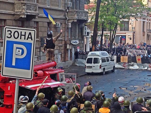 В Одессу прибыл спецбатальон МВД Украины