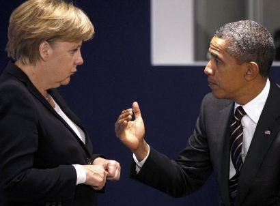 Обама и Меркель одобряют карательную операцию в Славянске