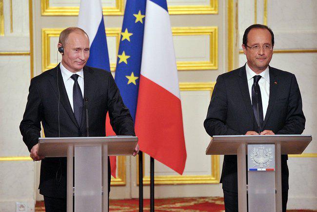 Олланд обсудит с Путиным ситуацию на Украине