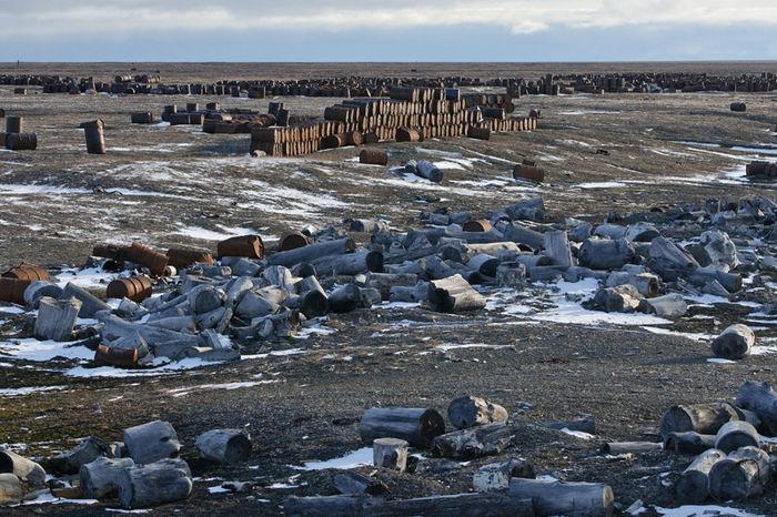 Продолжается утилизация отходов