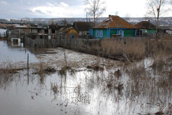 В Хакасии затоплено уже полсотни домов