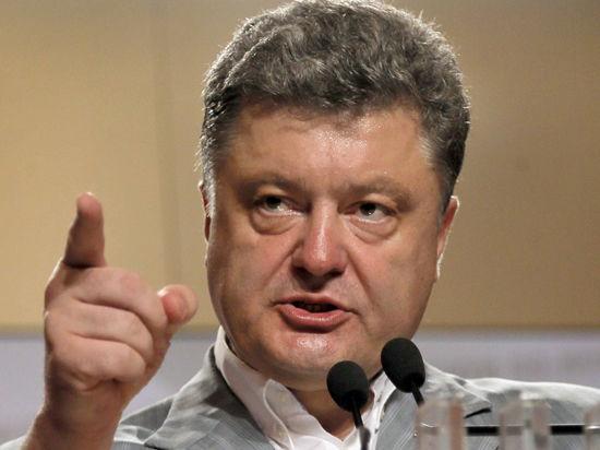 Порошенко заявил, что с 28 мая карательная операция на Донбассе началась по-настоящему