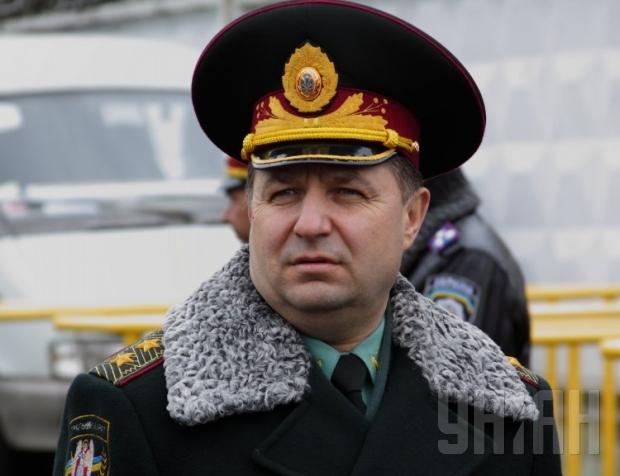 Полторак заявил, что спецоперация на Донбассе продолжается