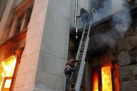 «Правый сектор» гордится, что сжег живьём 38 человек в Одессе