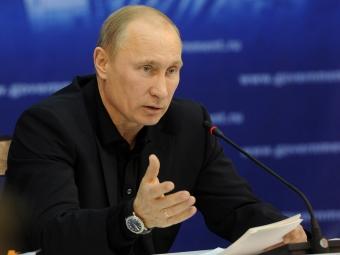 Путин не получал обращения руководства Донецкой народной республики