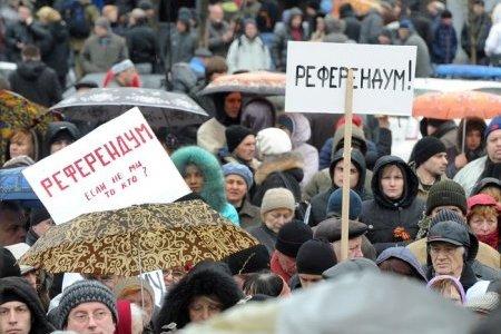 Киев продолжит силовую операцию, даже если на Юго-Востоке будет проходить референдум