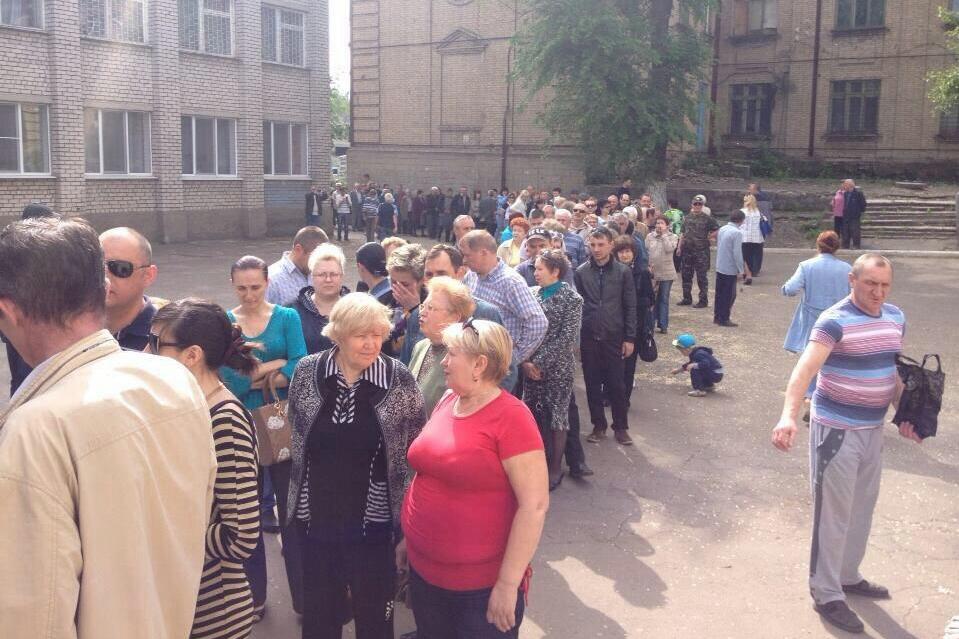 Треть населения «Донецкой народной республики» уже проголосовали на референдуме