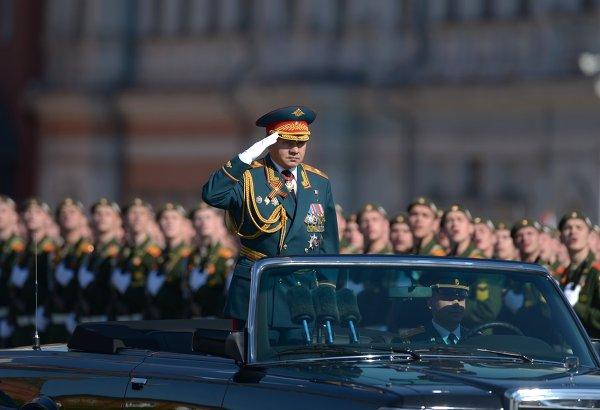 В Москве начался праздничный парад Победы
