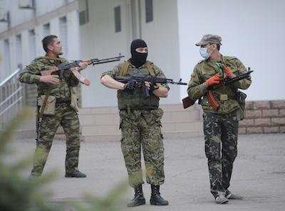 Народное ополчение Славянска перешло в наступление